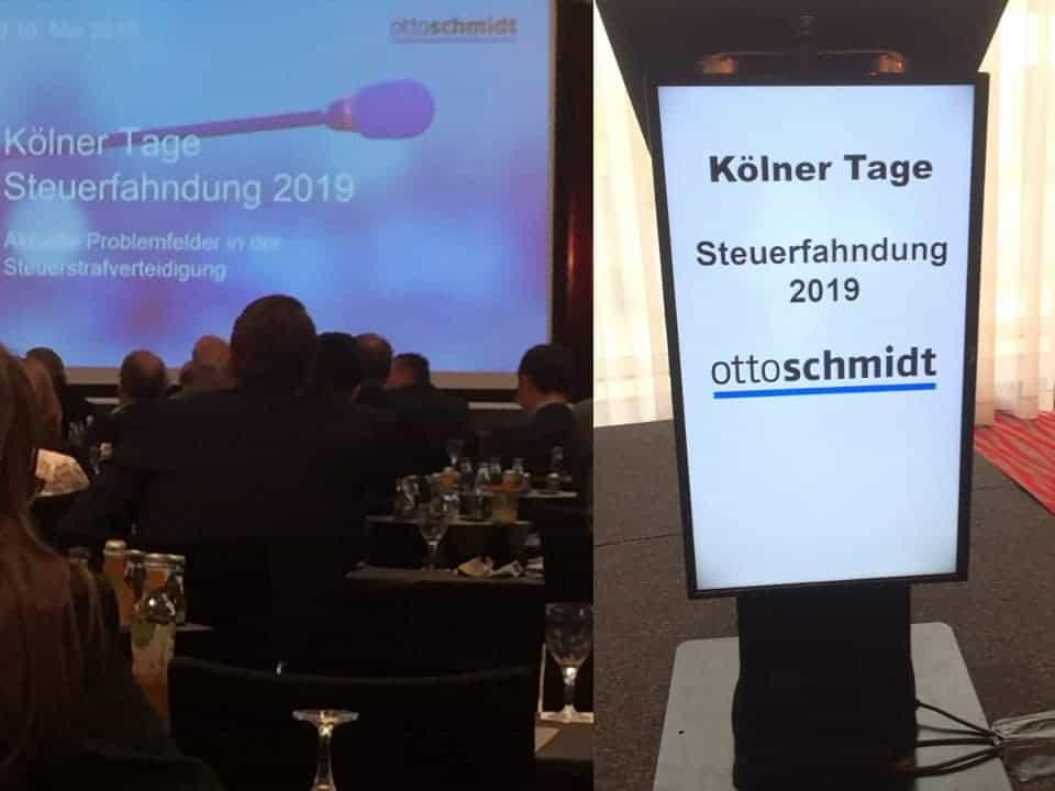 Steuerfahndung Kölner Tage