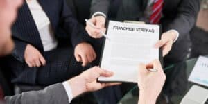 franchisenehmer franchise vertrag