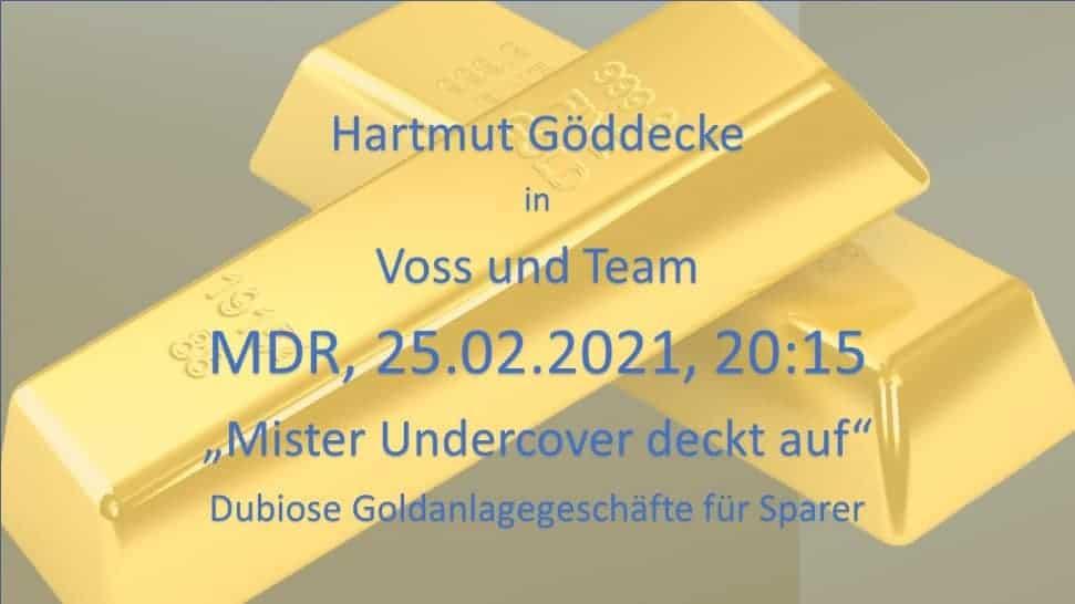 Multi Invest Mister Undercover