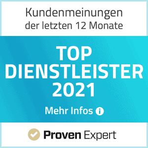 Proven Expert Top Dienstleister 2021